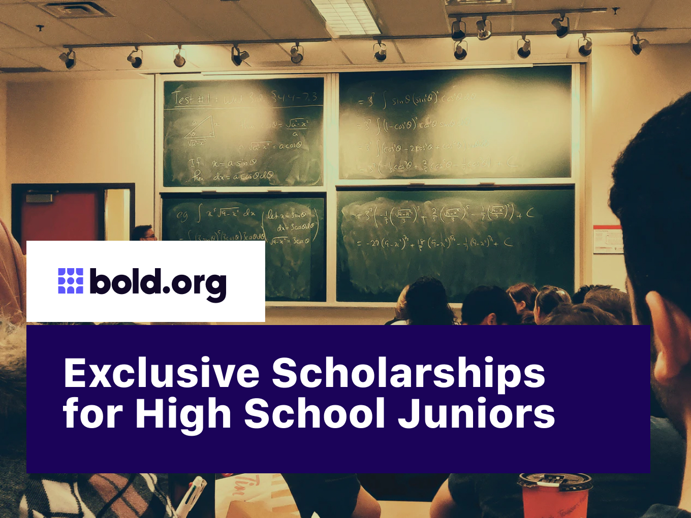 20 Exclusive Scholarships for High School Juniors (2021)