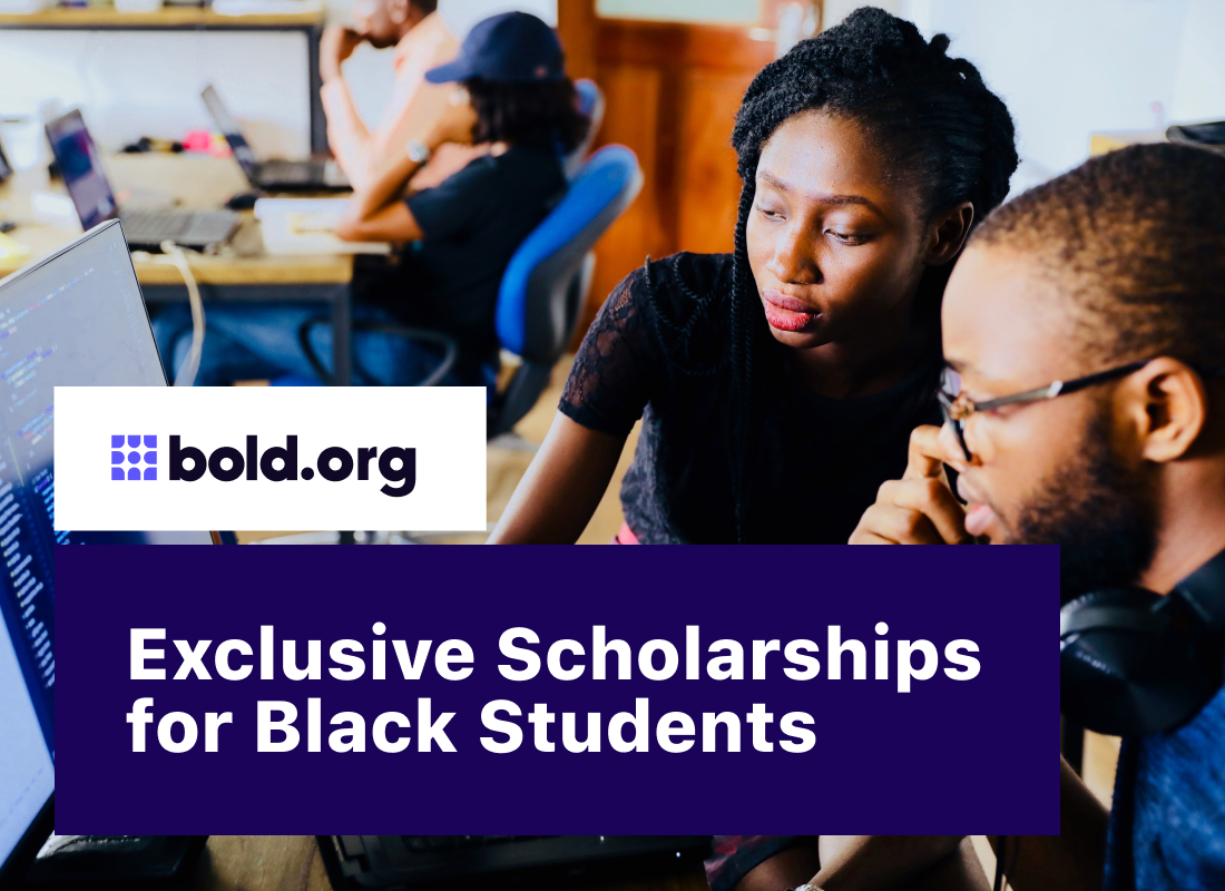 20 Exclusive Scholarships for Black Students