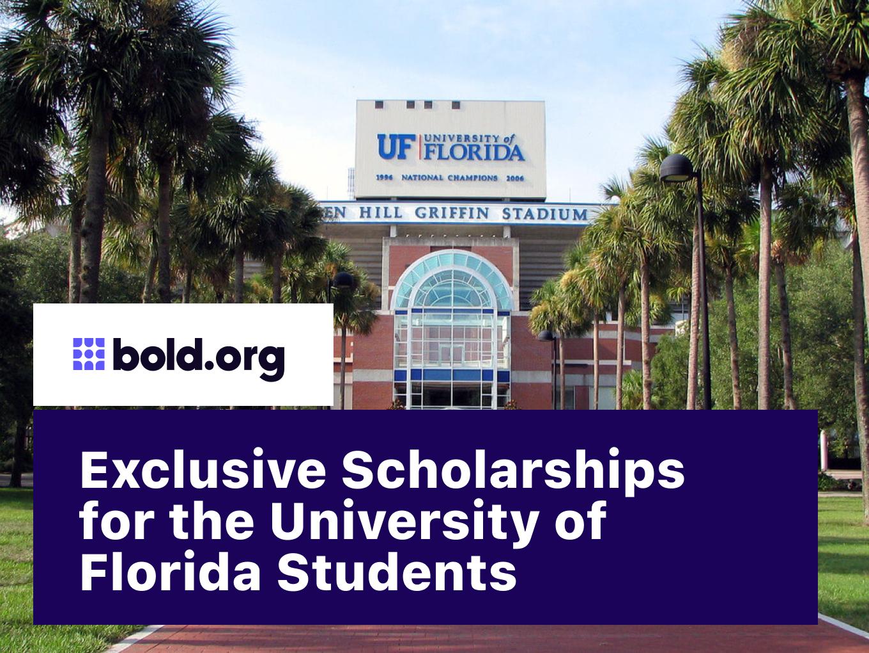 10 Exclusive University of Florida Scholarships