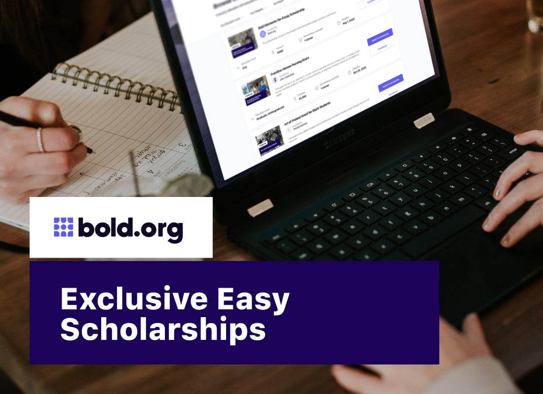 38 Exclusive Easy Scholarships with Upcoming Deadlines