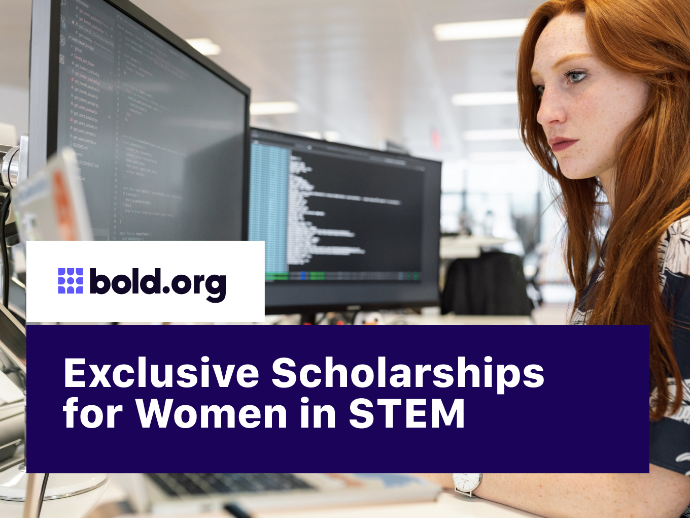 7 Great Scholarships for Women in STEM